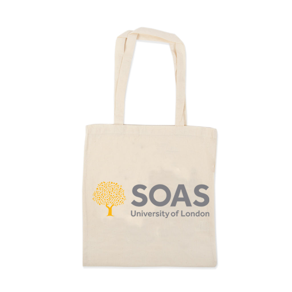 Cotton Tote SOAS Law Logo
