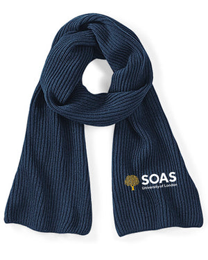 SOAS Knitted Scarf