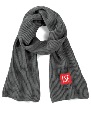 LSE Knitted Scarf - LSE Media