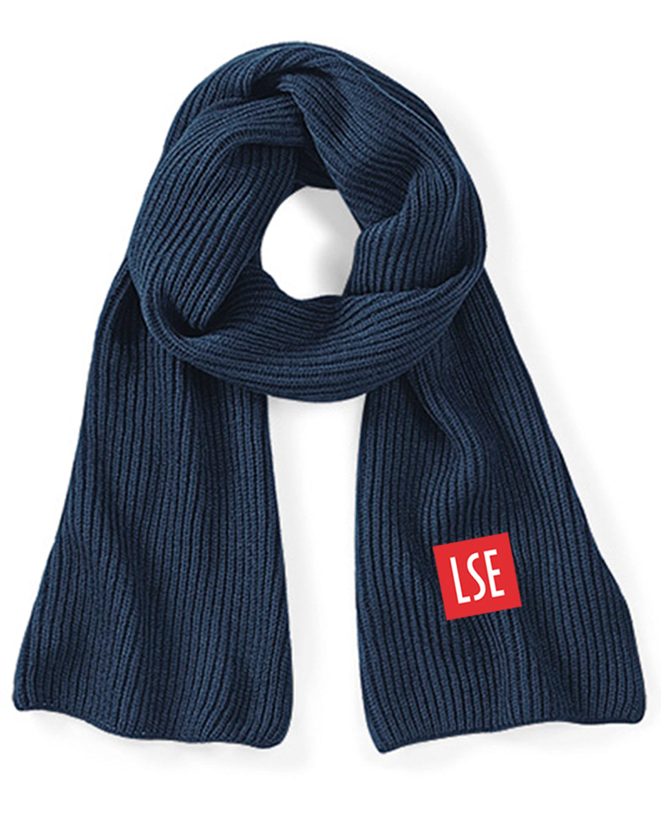 LSE Knitted Scarf