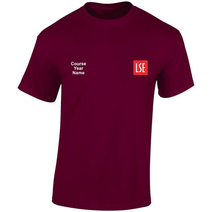 LSE embroidered T-shirts