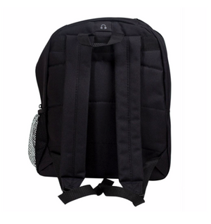 Logo Back Pack Black