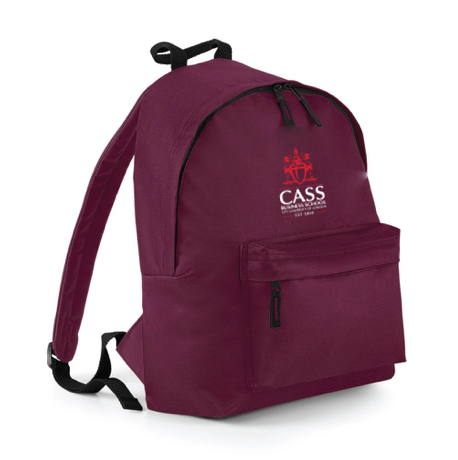 Cass Crest Back Pack Burgundy