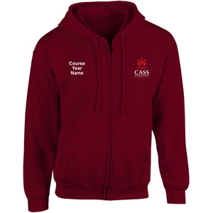 Cass Real Estate Zip Hooded top