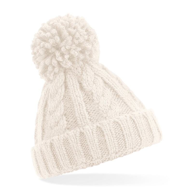 B480a Infant Cable Knit Melange Beanie