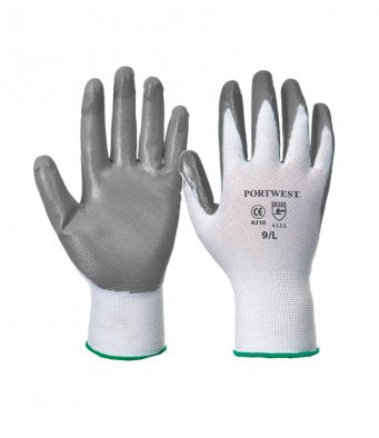 PW074 Flexo Grip Nitrile Gloves