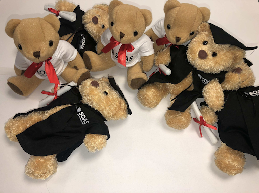 SOAS SU Teddy Bears (Graduation)