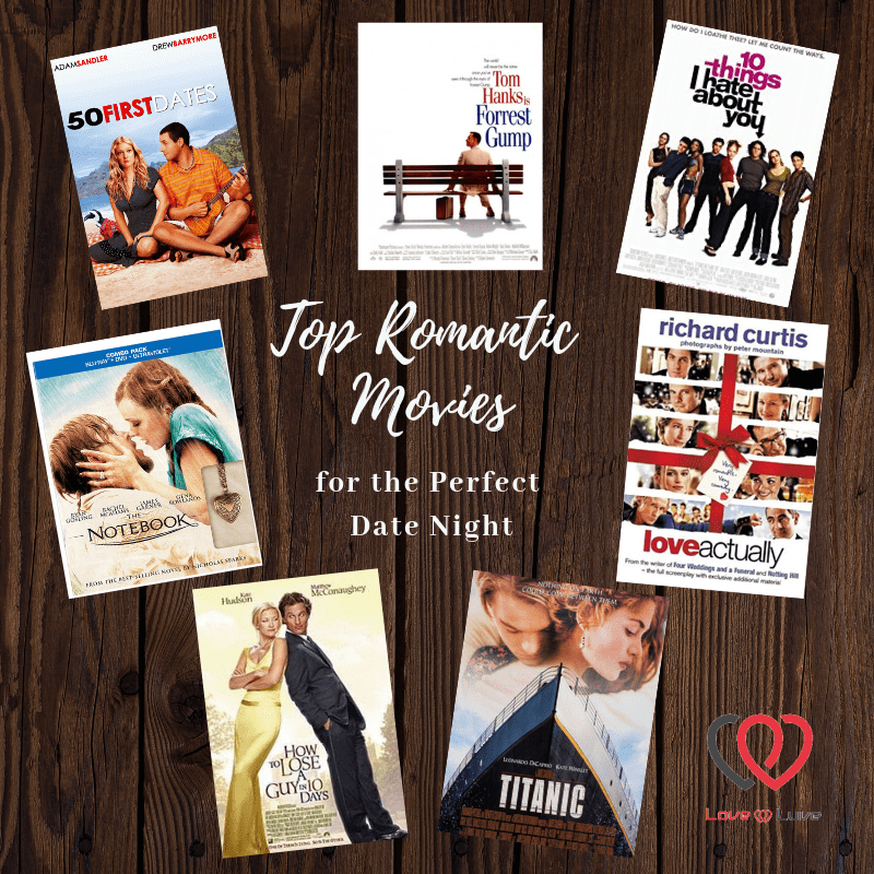 Top Romantic movies for the perfect date night