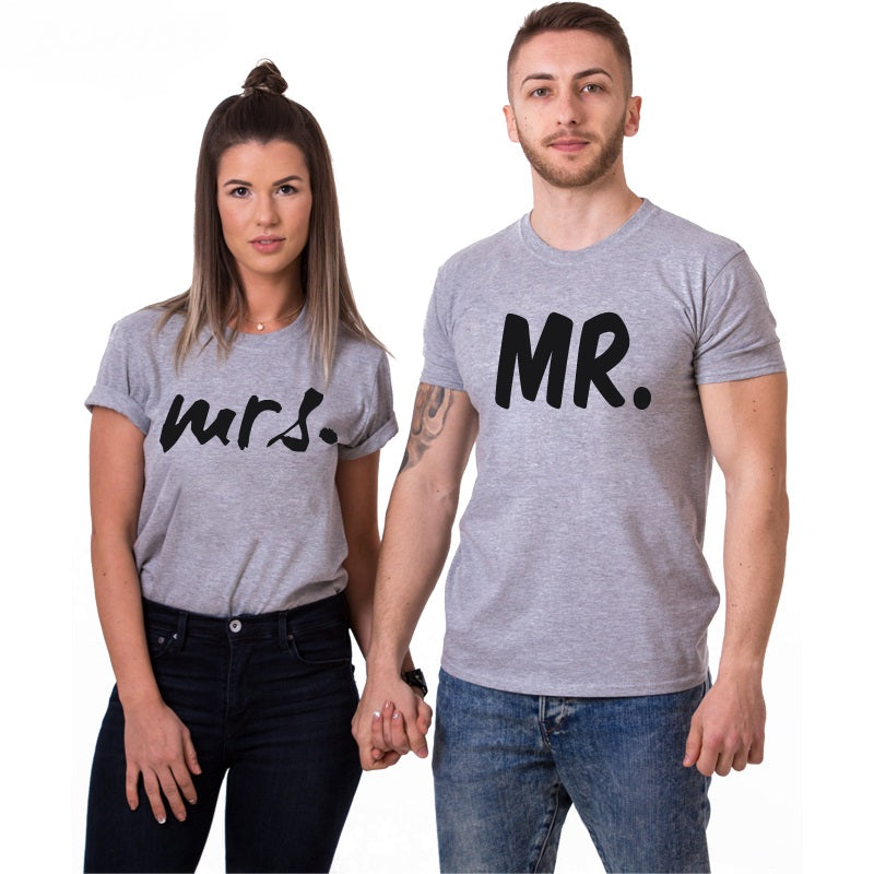 mr & mrs tshirt