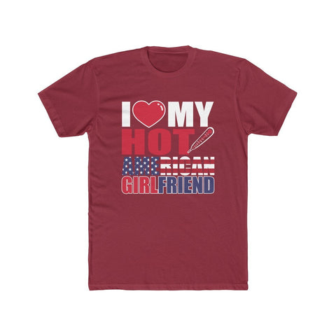 Image of I Love My Hot American Girlfriend Tee - LoveLuve