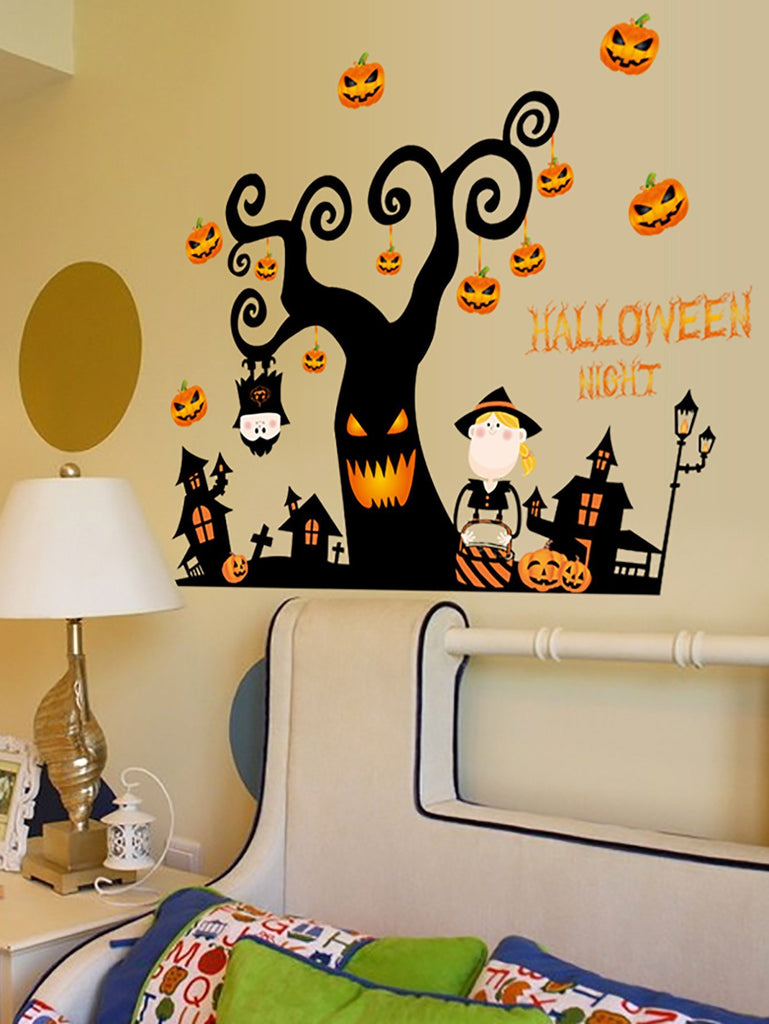 Halloween Print Wall Sticker - LoveLuve