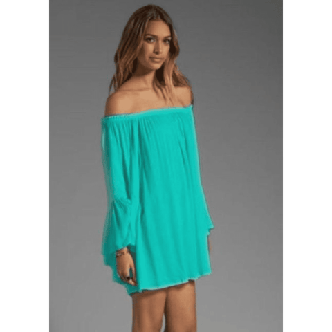 Loose Fit Summer Chiffon Mini Dress - LoveLuve