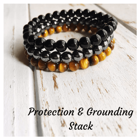 Protection & Grounding Stack ~ 6mm Genuine Black - LoveLuve