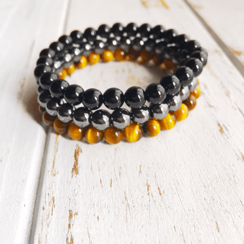 Image of Protection & Grounding Stack ~ 6mm Genuine Black - LoveLuve