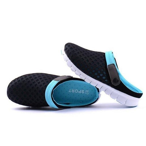 Image of 2018 New Fashion Summer Men And Women Slippers Flats Shoes Breathable Mesh Sandals Leisure Shoes Unisex Couples Casual Shoes - LoveLuve