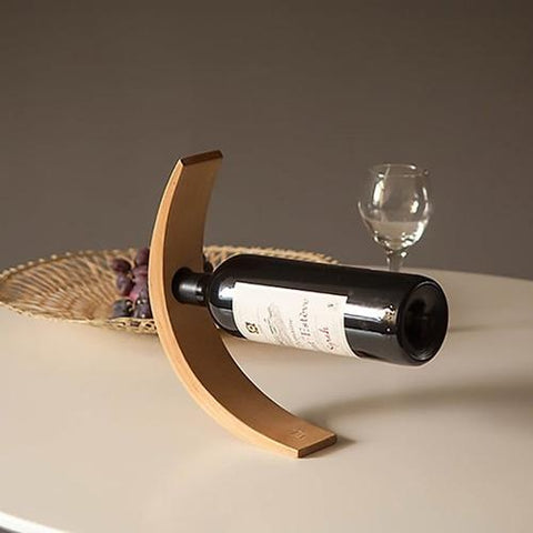 Image of Bamboo Wine Bottle Holder - LoveLuve