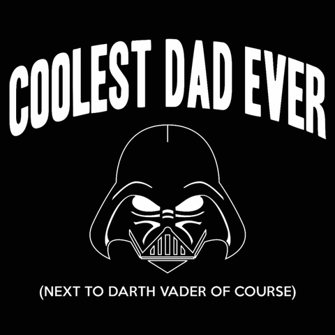 Image of Star Wars Coolest Dad Ever Crewneck Sweatshirt