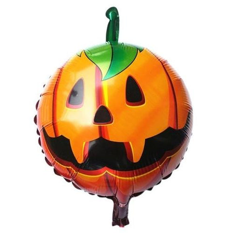 Image of 1PC Halloween Pumpkin Head Foil Balloons - LoveLuve