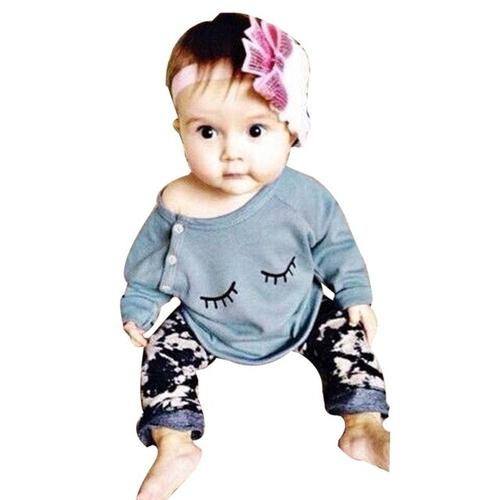 2018 Baby 2PCS Autumn winter New baby girl clothes - LoveLuve