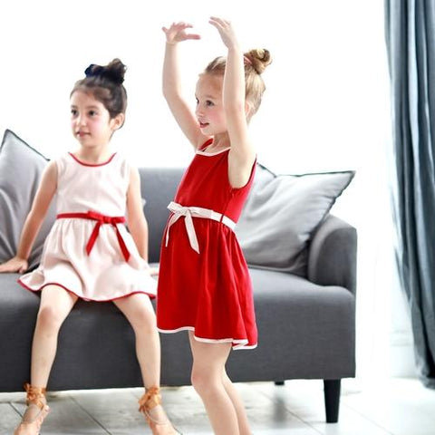 Image of Mother & Daughter Matching Dress : Butterfly Swing - LoveLuve