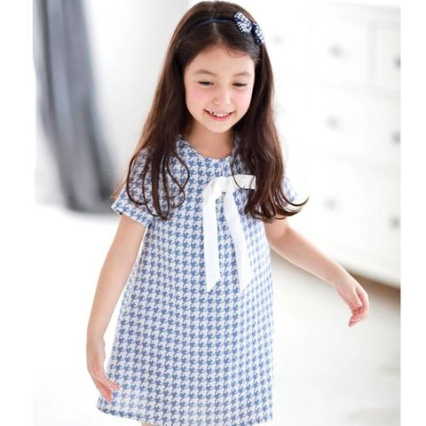 Image of Mother & Daughter Matching Dress : Houndstooth - LoveLuve