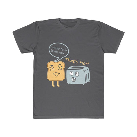 Image of Toast and Toasty Funny Unisex Fitted Tee - LoveLuve