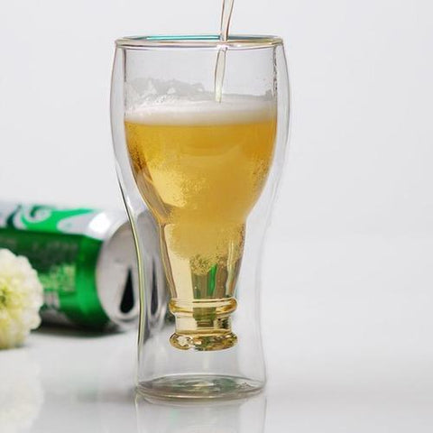 Glass Beer Bottle - LoveLuve