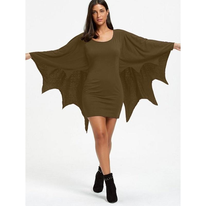Women's Bat Halloween Costume - Bat Animal Jumpsuit,plus Size S-5XL - LoveLuve
