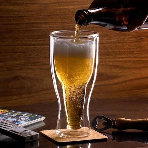Image of Glass Beer Bottle - LoveLuve