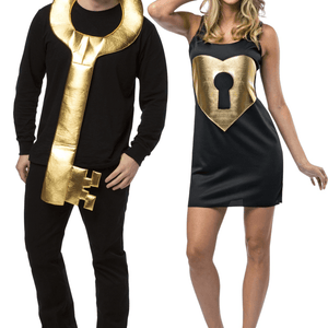 Key To My Heart Couples Halloween Adult Costume - LoveLuve