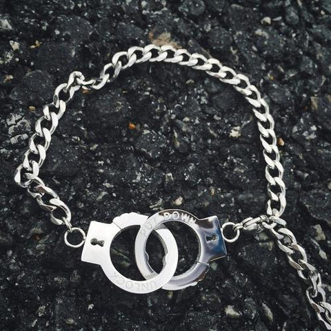 Image of Handcuffs Bracelet - LoveLuve