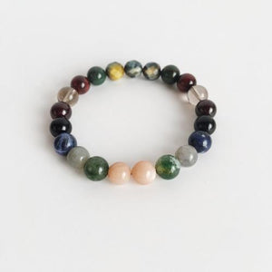 Protection Mix ~ Genuine Gemstone Mix Bracelet