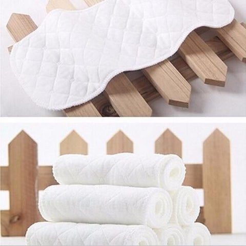 Image of 5PCS Baby Diapers Bamboo Eco Cotton Disposable - LoveLuve
