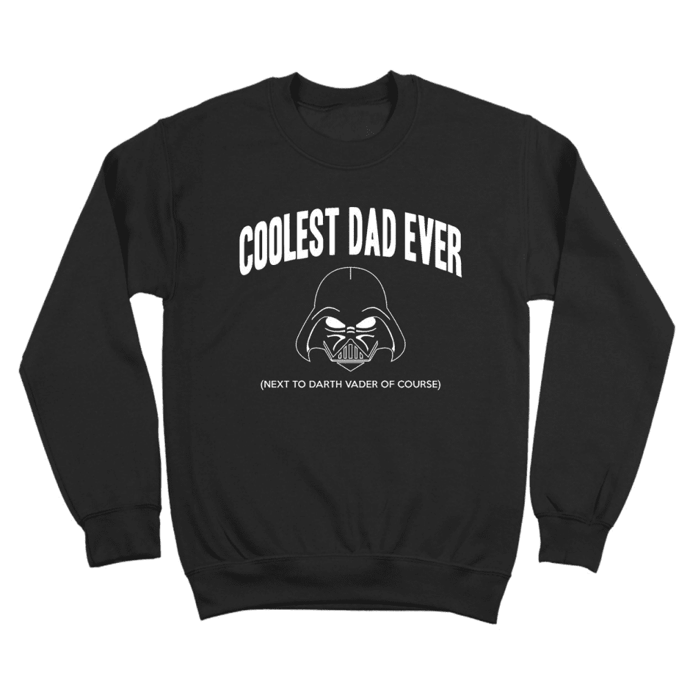 Star Wars Coolest Dad Ever Crewneck Sweatshirt