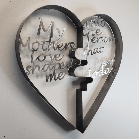 Image of 3 Dimensional Mother 's Love Heart - LoveLuve