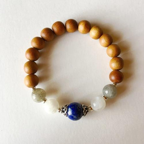 Image of Third Eye Chakra ~ Sandalwood, Lapis Lazuli, - LoveLuve