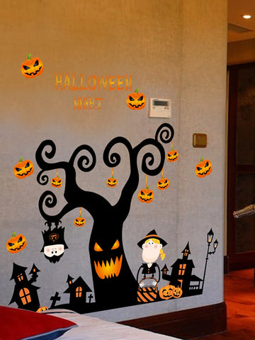 Image of Halloween Print Wall Sticker - LoveLuve