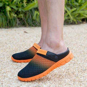 2018 New Fashion Summer Men And Women Slippers Flats Shoes Breathable Mesh Sandals Leisure Shoes Unisex Couples Casual Shoes