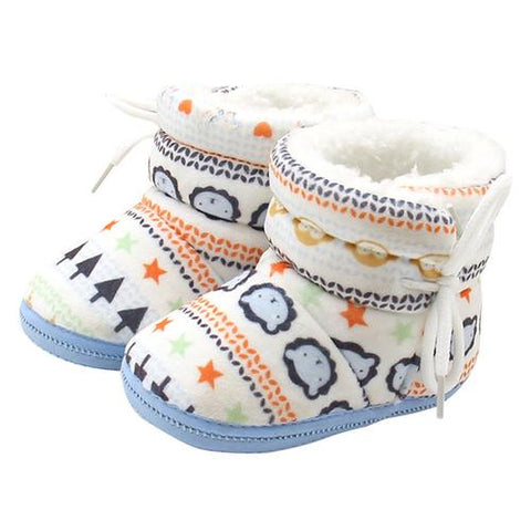 Image of Baby Boots Plus Velvet Winter Warm Geometir - LoveLuve