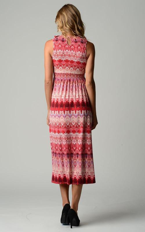 Women's Ruffle Maxi Dress