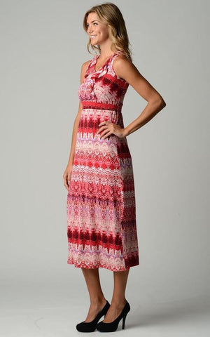 Image of Women's Ruffle Maxi Dress