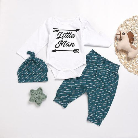 Image of Fashion Baby's Set Infant Baby Girls Boys Letter - LoveLuve