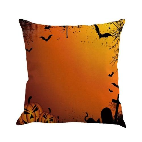Halloween Pillow Cover Linen Car Sofa Throw - LoveLuve