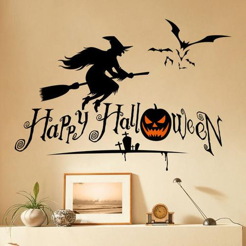 Image of Halloween Series Witches Window Living Room - LoveLuve
