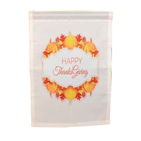 Image of Happy Thanksgiving Garden Flags Polyester Home - LoveLuve