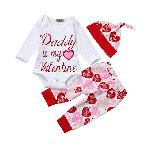 Image of Hot Newborn Infant Baby Girl clothes Letter Romper - LoveLuve