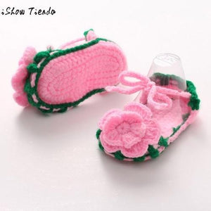 Hot Sale  New baby shoes Crib Crochet Casual Baby