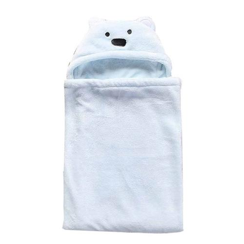 Lovely Soft  Animal Shape Baby Hooded Bathrobe - LoveLuve