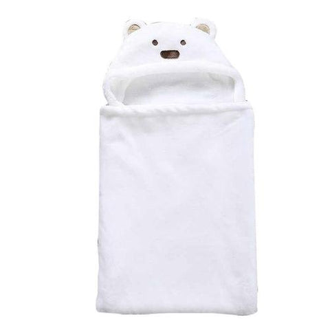 Image of Lovely Soft  Animal Shape Baby Hooded Bathrobe - LoveLuve