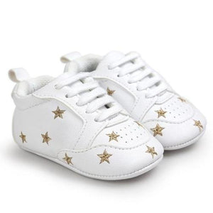 Newborn Baby Five-pointed Star Bandage Soft Sole